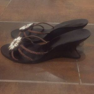 Pelle Moda wedge heel sandals
